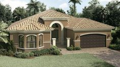 Mediterranean homes – Mediterranean Home Decor Modern Bungalow House, Bungalow House Plans, Modern House Design, My House Plans, House Floor Plans, House Construction Plan, Mansion Interior, Mediterranean Home Decor, Selling Real Estate