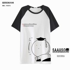 Anime T-shirt Assassination Classroom Casual Cosplay Unisex Short Sleeve Tee Top