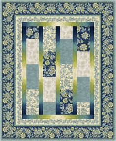 FREE PATTERN >> Zara - Simplicity Quilt by Laura Coons - Timeless Treasures