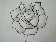 Hoe een witte roos tekenen en schilderen - Hobby.blogo.nl