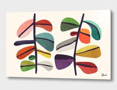 """""""Plant Specimens"""", Numbered Edition Aluminum Print by Budi Kwan - From $69.00 - Curioos"""