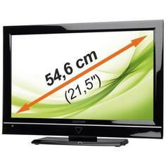 "MEDION MD 32127 FULL HD HD LCD TV 21,5"" / 54,6cm P13127 Integrierter DVD-Player DVB-T FULL HD USB SD/MMC ° USB-Anschluss für MP3- und JPG-Wiedergabe ° EPG ° VT"
