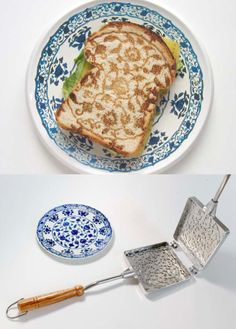 PRETTY GRILLED CHEESE!