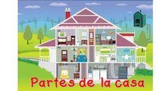 Contiene láminas de las partes de la casa. Comedor, sala, dormitorio, baño, cocina