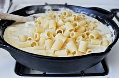 4 cheese skillet rigatoni, yes please