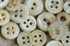 Loved white buttons