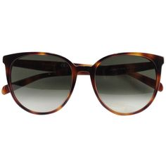 Céline Thin Mary sunglasses ($419) ❤ liked on Polyvore featuring accessories, eyewear, sunglasses, glasses, brown, summer sunglasses, brown glasses, brown sunglasses, celine glasses and celine sunglasses