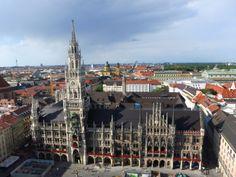 Munich, Germany   www.leadmeaway.com   #munich #germany #europe #summer #bavaria #city #architecture