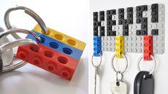 Cute way to hang keys...