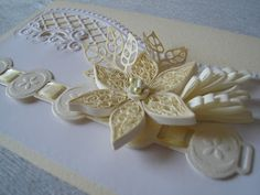 gorgeous quilling card