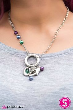$5 Everyday on DeanasDeals.com Multi colored charm and silver tone on this great jewelry necklace & earrings set! Bling gifts ideas for her or treat yourself!