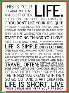 Rules to live by!!! Love this!