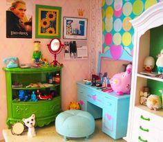 Dollhouse: Kids room: Corner