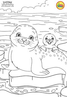 Animals Coloring Pages for Kids - Free Preschool Printables - Životinje Bojanke - Animal Coloring Books by BonTon TV Farm Animal Coloring Pages, Coloring Sheets For Kids, Cute Coloring Pages, Disney Coloring Pages, Printable Coloring Pages, Free Coloring, Coloring Pages For Kids, Coloring Books, Free Preschool
