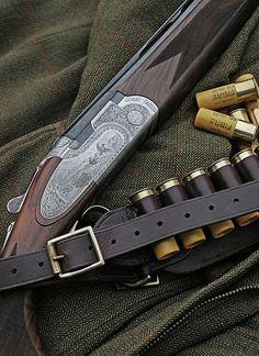 Beretta Shotgun & Musto Shooting Coat with RC Cartridges by Threedi, via Flickr