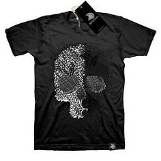 Skull White - Unisex - new classic collection -www.mybotschaft.com Types Of Printing, Classic Collection, Polo Ralph Lauren, Skull, Unisex, Tees, Skeleton, Eco Friendly, Prints