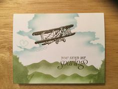 Stampin' Up Sky is the Limit