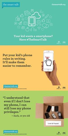 Is your child ready for a smartphone? Have The Smart Talk with them! [Sponsored]