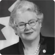 """PR would mean my vote would be counted. This is vital to feminists and democracy."" ~ Nancy Ruth, Senator, Conservative Party of Canada"