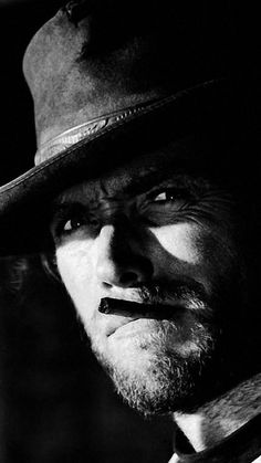 Hollywood Actor, Hollywood Celebrities, Clint Eastwood Poster, Goodfellas Movie, Sergio Leone, Beautiful Dark Art, Actrices Hollywood, Face Photo, Western Movies