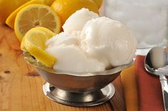 Traditional Italian Lemon Gelato (Gelato al Limone) | Enjoy this authentic Italian recipe from our kitchen to yours. Buon Appetito!