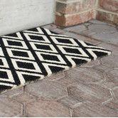 Found it at AllModern - Sweet Home Rhombi Doormat