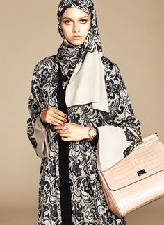 Dolce and Gabbana Creates Abaya Collection for The Middle East