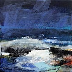 Patricia Sadler seascape — Rhythm of the Waves 2 Abstract Landscape Painting, Seascape Paintings, Abstract Oil, Landscape Art, Landscape Paintings, Contemporary Landscape, Contemporary Paintings, Ocean Canvas, Surfing Pictures