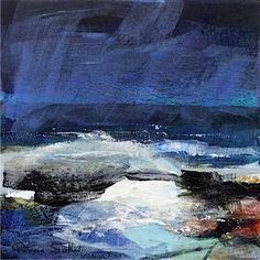 Patricia Sadler seascape — Rhythm of the Waves 2 Abstract Landscape Painting, Seascape Paintings, Abstract Oil, Landscape Art, Landscape Paintings, Ocean Art, Ocean Waves, Sky Art, Contemporary Landscape