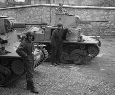 """Fiat L6/40 was a light tank used by the Italian army from 1940 through World War II. It was designed by Fiat-Ansaldo as an export product, and was adopted by the Italian Army when officials learned of the design and expressed interest. It was the main tank employed by the Italian forces fighting on the Eastern Fronts ,alongside the Semovente 47/32 self-propelled gun. The official Italian designation was Carro Armato """"armed wagon""""."""