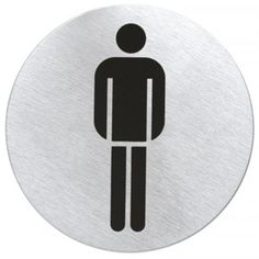 Szyld na drzwi do toalety. ePraktyk.pl