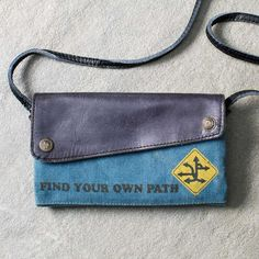 Find Your Own Path Cross body  For those free spirits who are wild at heart and constant travellers. 👣 Find Your Own Path - Explore 👣 Take the road less travelled with one of our cross body bags. 👜 www.femailcreatio... #UniqueGifts #GiftsForWomen #Gifts #GiftsForAllOccassions #InspirationalGifts #Love #NewProducts #Bags #CrossBody #GypsySoul #WildOne #Travel #Free #FreeSpirit #Explore #TheRoadNotTaken