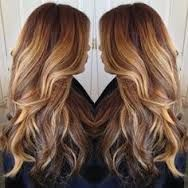 dark hair with bright coloured highlights - Google Search