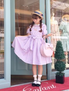 Leur Getter Dolly Fashion, Lolita Fashion, Grunge Fashion, Kawaii Fashion, Cute Fashion, Dressy Outfits, Cute Outfits, Harajuku, Cute Dresses