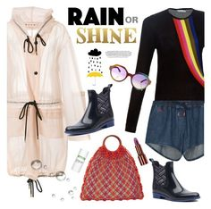 """Rain or Shine"" by watereverysunday ❤ liked on Polyvore featuring Marni, Mary Katrantzou, Marco de Vincenzo, Michael Kors, Être Cécile, Sixtrees, Teeez and 10 Crosby Derek Lam"