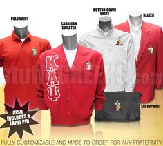 The Fraternity Business Package: Customize for Any Fraternity  Item Id: CUS-BUSPKG-F  Retail Price: $534.00  You Save: $135.00  Price: $534.00  Your Price:  $399.00