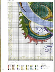 Cross-stitch Dragon Part Dragon Cross Stitch, Fantasy Cross Stitch, Cross Stitch Fairy, Cross Stitch Animals, Cross Stitch Charts, Cross Stitch Designs, Cross Stitch Patterns, Cross Stitching, Cross Stitch Embroidery