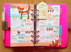 She's Eclectic: My week in my Filofax #11