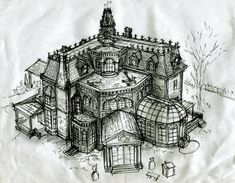 Addams Family House Floor Plan Lovely B Movie Blitzkrieg Blitzkrieg Intermission Drawing the Addams Family House, Family House Plans, House Floor Plans, Family Houses, Victorian House Plans, Victorian Homes, Sims Building, House Sketch, Dream House Drawing