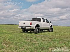 Check out the white shark, a 2005 Ford F-250 that is fast 'n' clean. See how this custom 6.0L Power Stroke powered Super Duty makes good power with River City Diesel injectors, a custom tune and more in this month's issue of Diesel Power Magazine!