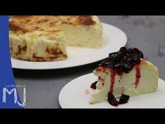 """A la izquierda, la tarta de queso de """"La Viña"""". Y a la dereceha, mi reproducción casi exacta Ya comenté en el video de ' La extrao..."""