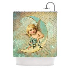 Angel by Suzanne Carter Shower Curtain