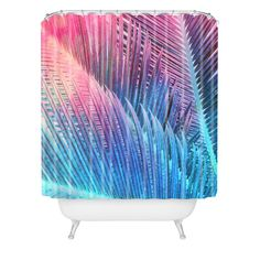 Emanuela Carratoni Palm 1 Shower Curtain   DENY Designs Home Accessories