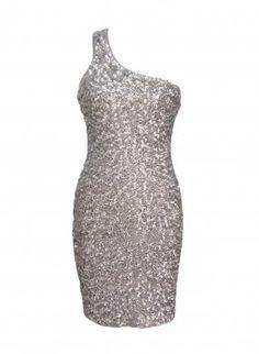 Silver+One+Shoulder+Sequin+Bodycon+Dress,++Dress,+one+shoulder+dress++sequin+dress,+Chic