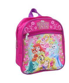 34fce6667fb2 Disney Princess Palace Pets Fuchsia Mini Backpack  zulilyfinds Princess
