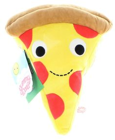 A huggable slice of pizza.
