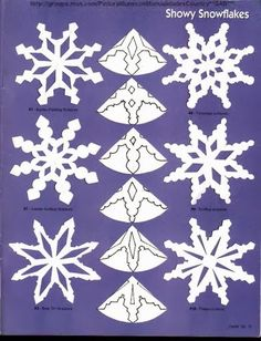 ballerina snowflakes template - Google Search