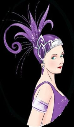 Art Deco Ladies | ART DECO LADY (19)