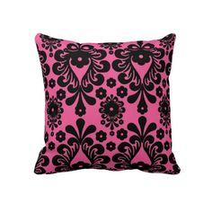 Hot Pink Pillow