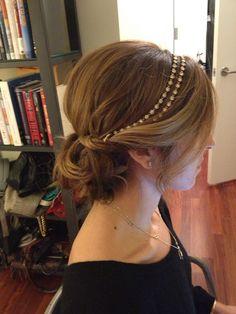 Astonishing Gemma Arterton Gold Headband The Temple Pinterest Gemma Short Hairstyles For Black Women Fulllsitofus